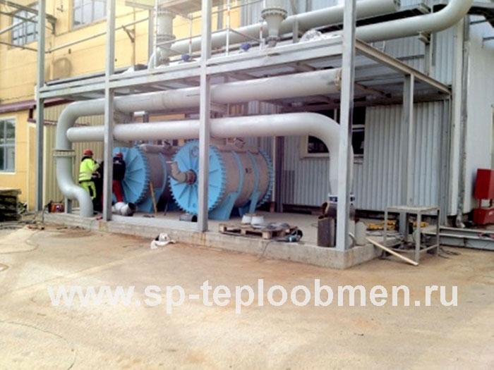 Cхемы помещения оборотного водоснабжения