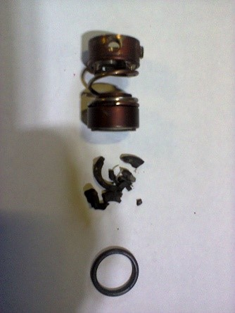 Replacement of the mechanical seal in the pump CNS-2,2-1,87